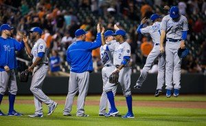Royals Clinch first playoff berth since 1985