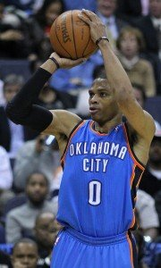 Russell  Westbrook by Keith Allison is licensed under CC by 2.0