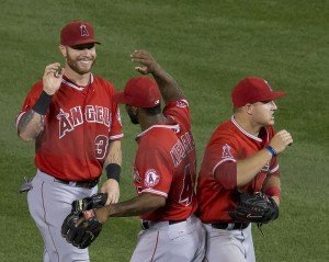 Angels win the AL West