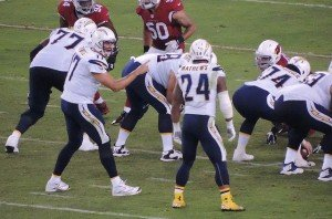 San Diego Chargers Philip Rivers & Ryan Mathews by FF Swami